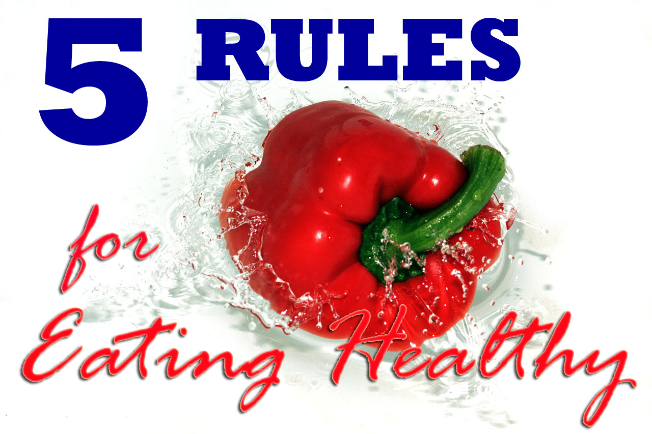 healthy eating rules