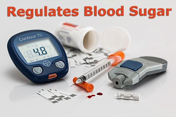 Regulates Blood Sugar