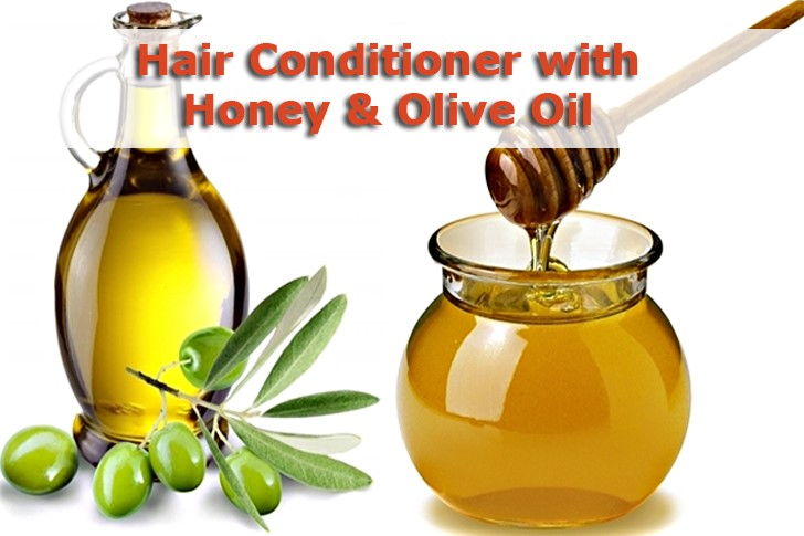 hair conditioner with honey and olive oil
