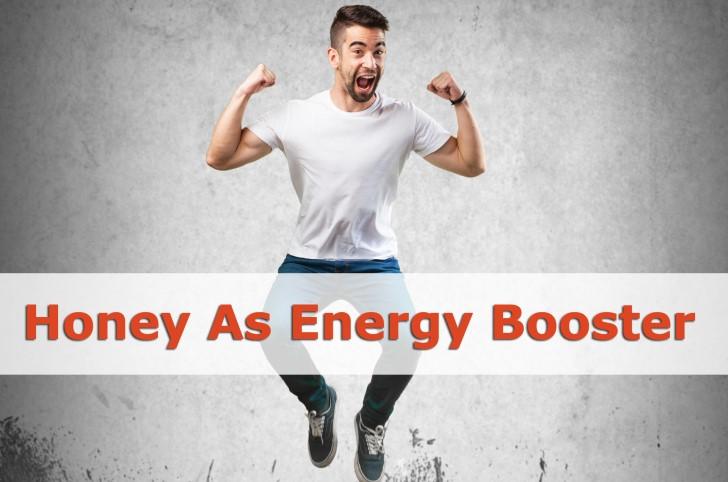 honey as energy booster
