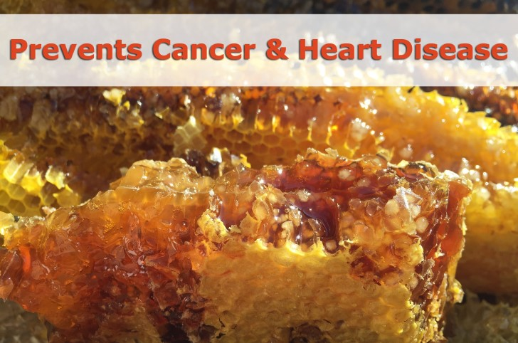honey for cancer and heart desease