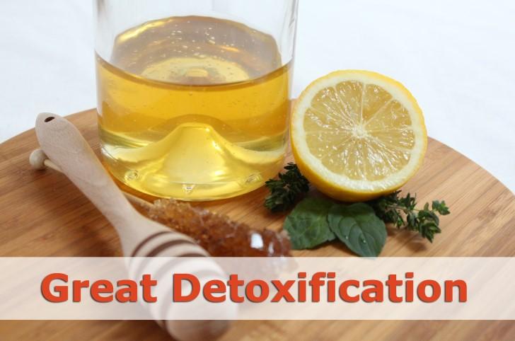 honey for detox