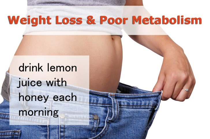 honey for weight loss and metabolism