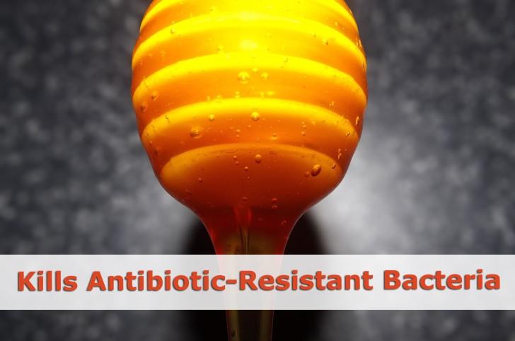 kills bacteria