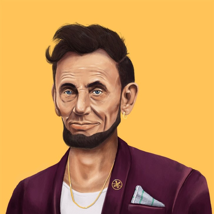 abraham lincoln hipster