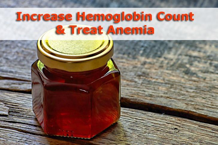 treat anemia with honey