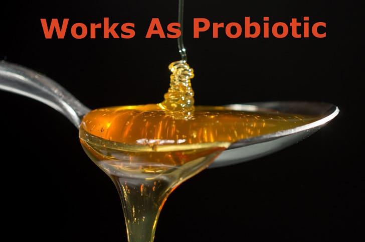works as probiotic