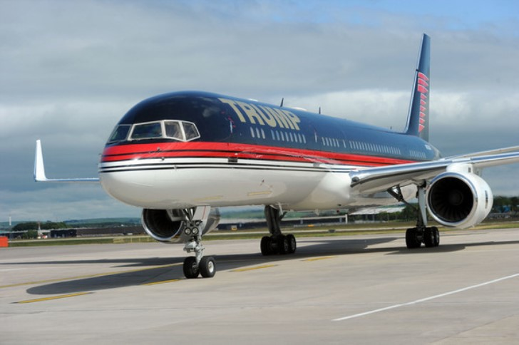 Donald Trump Boeing 757 Private Jet