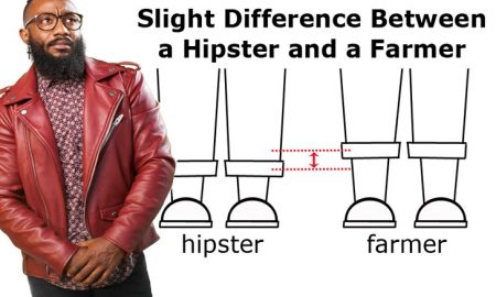 difference between a hipster and a farmer